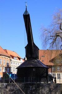 Alter Kran in Lüneburg