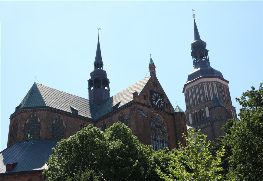 Photo of St. Marien Kirche Stralsund 1647 der höchste Kirchturm der Welt