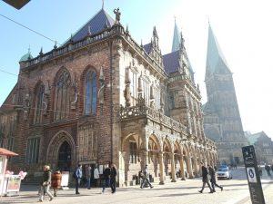 Bremer Rathaus und Bermer Dom