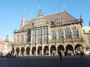 Bremer Roland und Bremer Rathaus