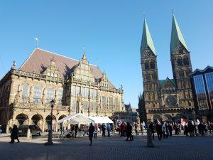 Rathaus Dom und Bürgerschaft