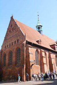 Heiligengeist Kirche Wismar aus Backstein