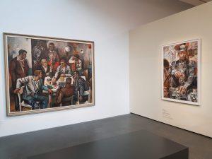 Maler Willi Sitte und Wille Neubert