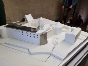 Modell der Moritzburg 2