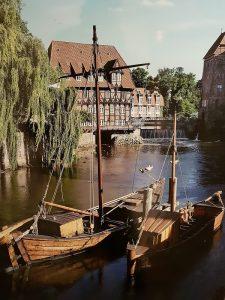 Ewer Schiff - Quelle Salzmuseum Lüneburg