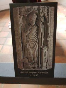 Grabmal Bischof Stephan Bodeker