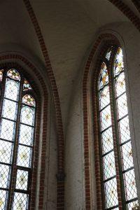 Wunderschöne Glasfenster
