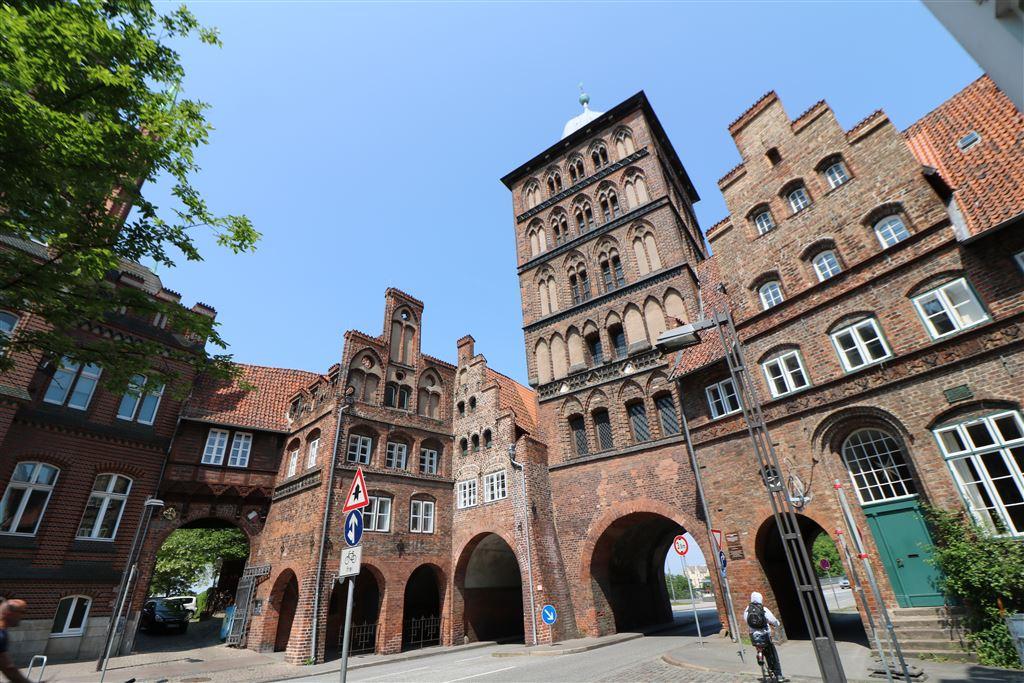 Photo of Luebecker Burgtor Stadttor an der früheren Burg