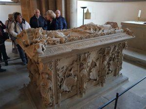 Sarkophag Königin Editha