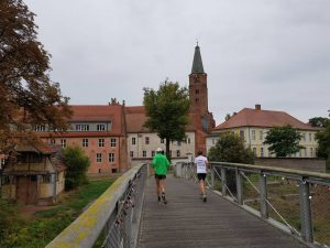Brücke über den Domstreng