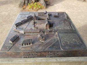 Modell der Dom-Anlage