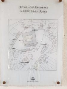 Plan der Dom-Anlage