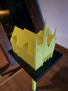 Modell des Rathauses