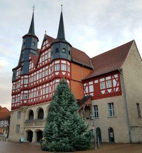 Rathaus an der Marktstraße