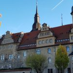 Barock Giebel am Schloss