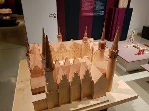 Modell Schloss und Dom Merseburg