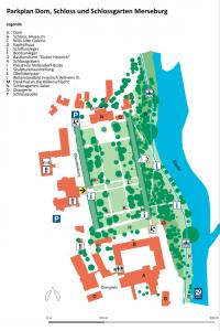 Plan Schlosspark Merseburg